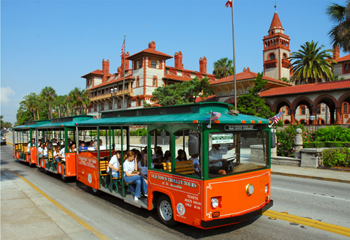 St. Augustine Hop-on Hop-off Trolley Tour in St. Augustine, Florida