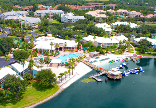 Aerial photo of Summer Bay Orlando Resort