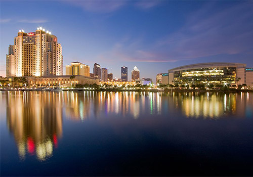Tampa Marriott Waterside Hotel and Marina in Tampa, Florida