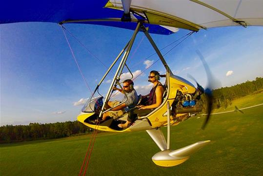 Tandem Hang Gliding Flights in Davenport, FL