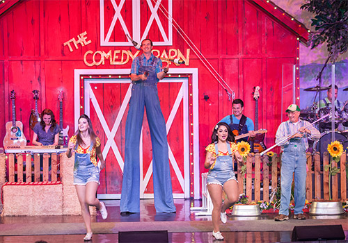 Stilts - The Comedy Barn in Pigeon Forge, Tennessee