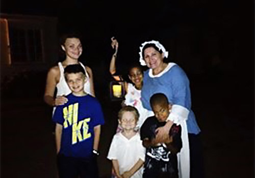 The Dead of Night Ghost Tour is kid friendly. - The Dead of Night Ghost Tour in Williamsburg, Virginia
