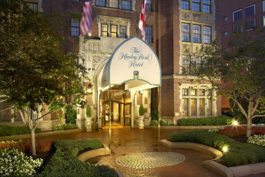 The Henley Park Hotel in Washington, DC