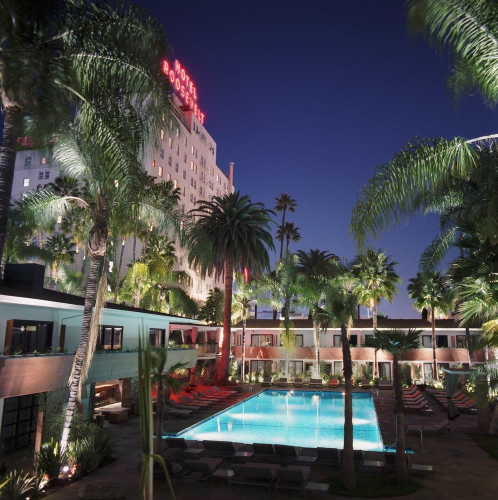 The Hollywood Roosevelt in Hollywood, California