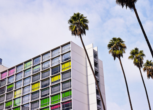 The LINE Hotel in Los Angeles, California