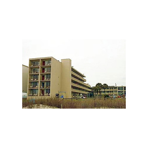 The Oceanfront Viking Motel in Myrtle Beach, South Carolina