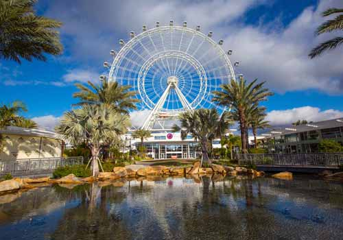The Coca-Cola Orlando Eye in Orlando, Florida