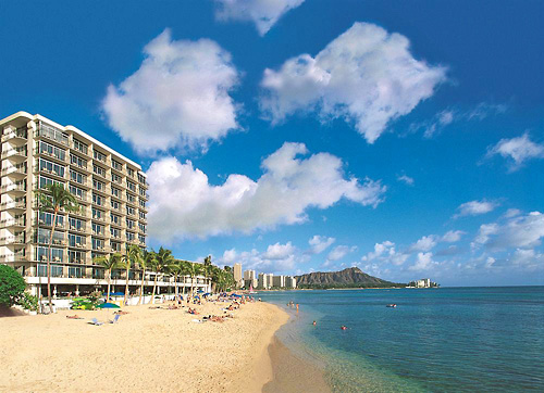 The Outrigger Reef on the Beach in Honolulu, Hawaii