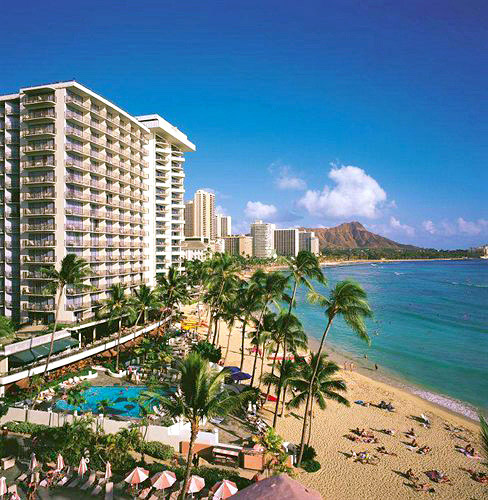 The Outrigger Waikiki on the Beach in Honolulu, Hawaii