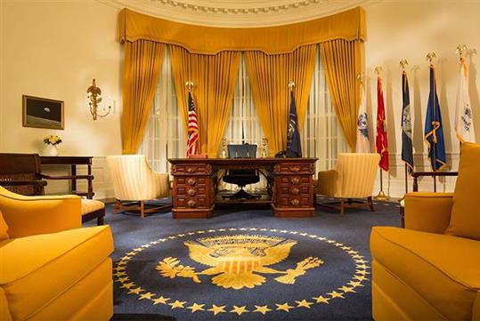 Nixon Library Oval Office - The Richard Nixon Library & Museum in Yorba Linda, CA