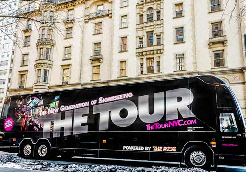 The TOUR - Multimedia Sightseeing Tour in New York, New York