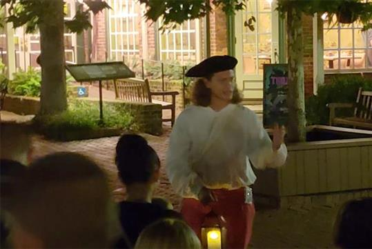 The Witches and Pirates Tour in Williamsburg, VA