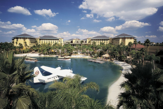 Beach - Universal's Loews Royal Pacific Resort in Orlando, FL