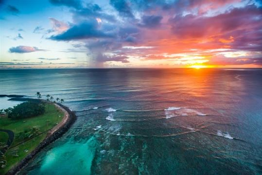 Waikiki Sunset Helicopter Tour in Honolulu, HI