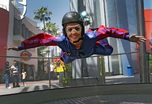 iFly Hollywood solo