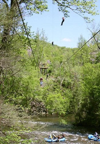 Adventure America Zipline Canopy Tours In Hartford Tn