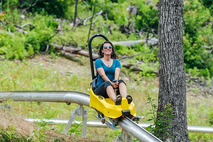 Anakeesta Gatlinburg Chondola Zipline Mountain Coaster