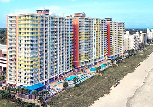 South Carolina Bay Watch Resort Conference Center Is Located Oceanfront In North Myrtle Beach