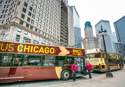 Downtown Chicago Double Decker Bus Tours