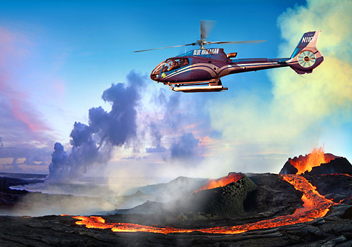 Helicopter Tour Volcano National Park Hawaii