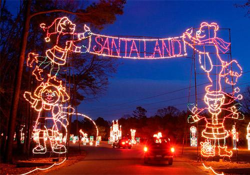 Christmas Lights In Branson Mo