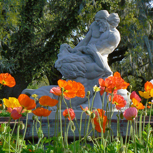 Beautiful Brookgreen Gardens In Murrells Inlet, South Carolina ...