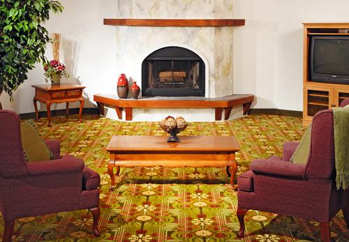 ... Brookwood Inn Lobby Sitting Area ...