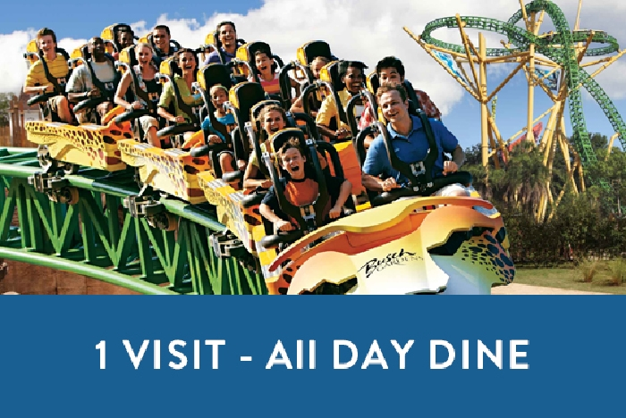 busch gardens tampa one visit with all day dine. beautiful ideas. Home Design Ideas