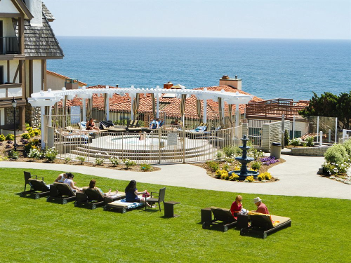 Carlsbad Inn Beach Resort In California Property Grounds Lobby Ocean View