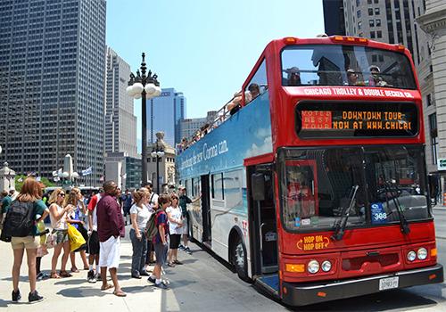 Double Decker Bus Tour Chicago
