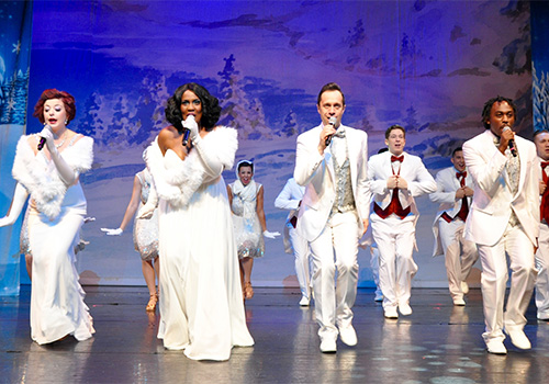 this show features all your favorite songs of the season white christmas - Broadway Christmas Shows