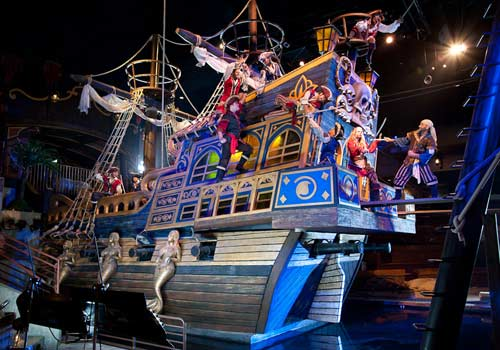 Christmas At Pirates Voyage Dinner Show Myrtle Beach Sc