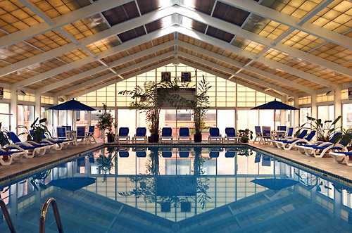 Virginia Heated Indoor Pool At The Clarion Hotel Historic District In Williamsburg