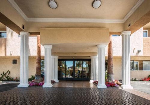 California Entrance Comfort Suites Huntington Beach In