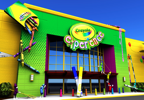 Image result for crayola experience