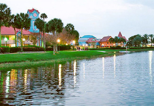 Florida Disney S Caribbean Beach Resort In Lake Buena Vista