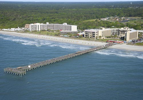 Doubltree Resort By Hilton Myrtle Beach Oceanfront In South Carolina