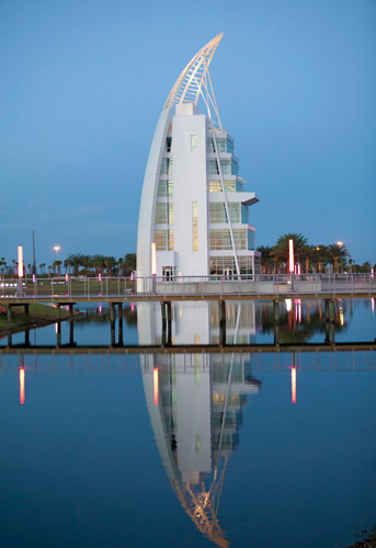 Exploration Tower At Port Canaveral Cape Canaveral Fl