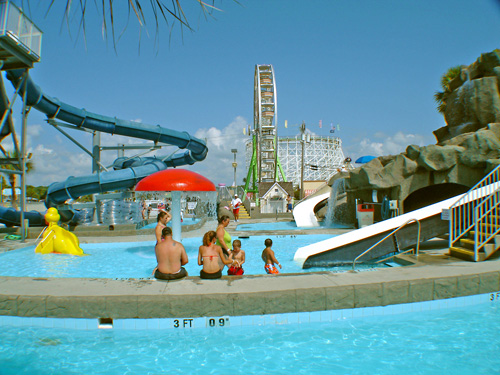 Family Kingdom Water Park In Myrtle Beach South Carolina