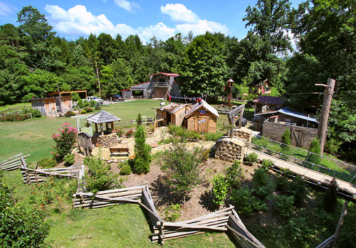 Foxfire Mountain Adventure Park Sevierville Tn