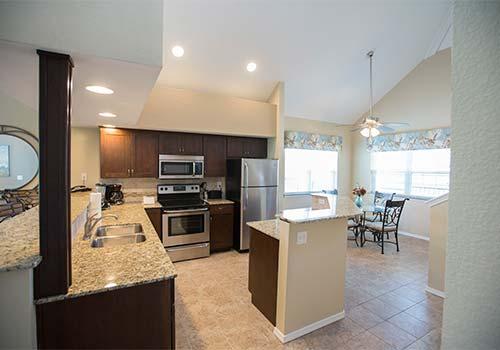 Missouri Kitchen In 2 Bedroom Unit Greensview Branson