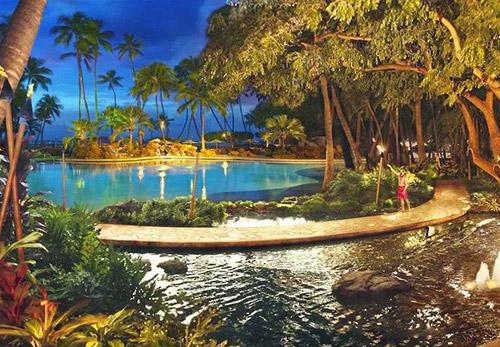 Hawaii Hilton Hawaiian Village Waikiki Beach Resort In Honolulu