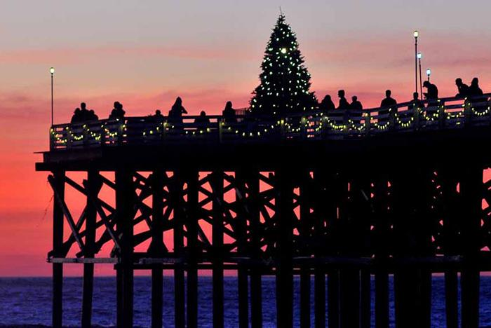 House With Christmas Lights To Music
