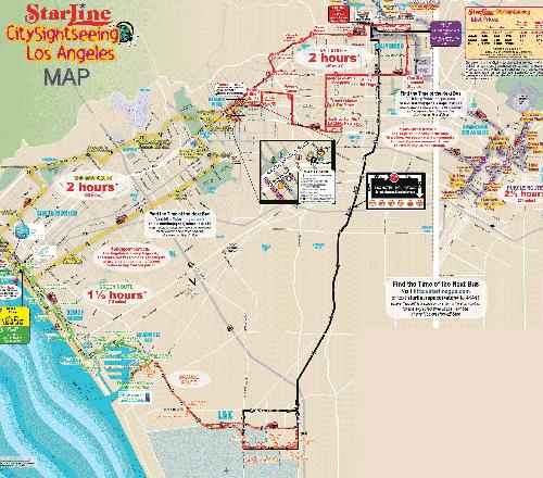 HopOn HopOff Double Decker Bus Tour  Los Angeles CA