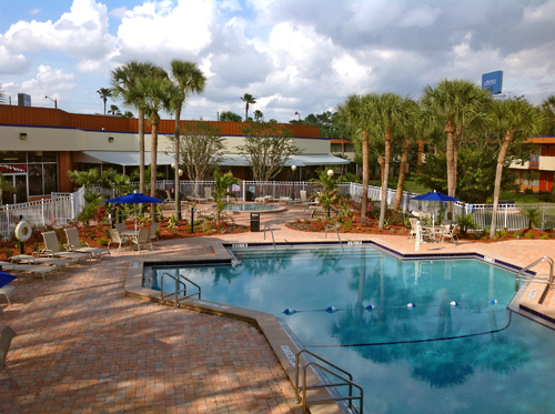 Florida Pool Red Lion Hotel Orlando Kissimmee Maingate In
