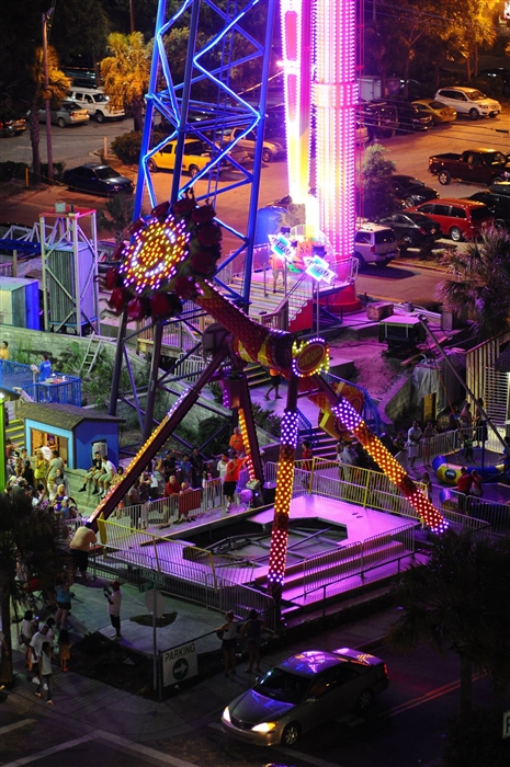 Sun Dance Free Fall Thrill Park