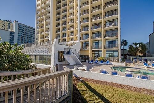 Sc Pool Deck Ocean Park Resort In Myrtle Beach