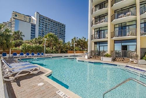 Sc Outdoor Pool Ocean Park Resort In Myrtle Beach