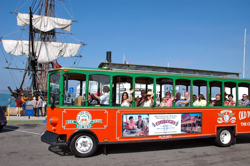 San Diego Old Town Trolley  Day Tour