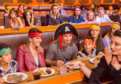 Florida Food Upgrade Available Pirate S Dinner Adventure In Orlando